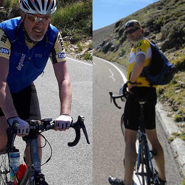 Kevin Rostasy und Roland Josler - Ötztaler Radmarathon