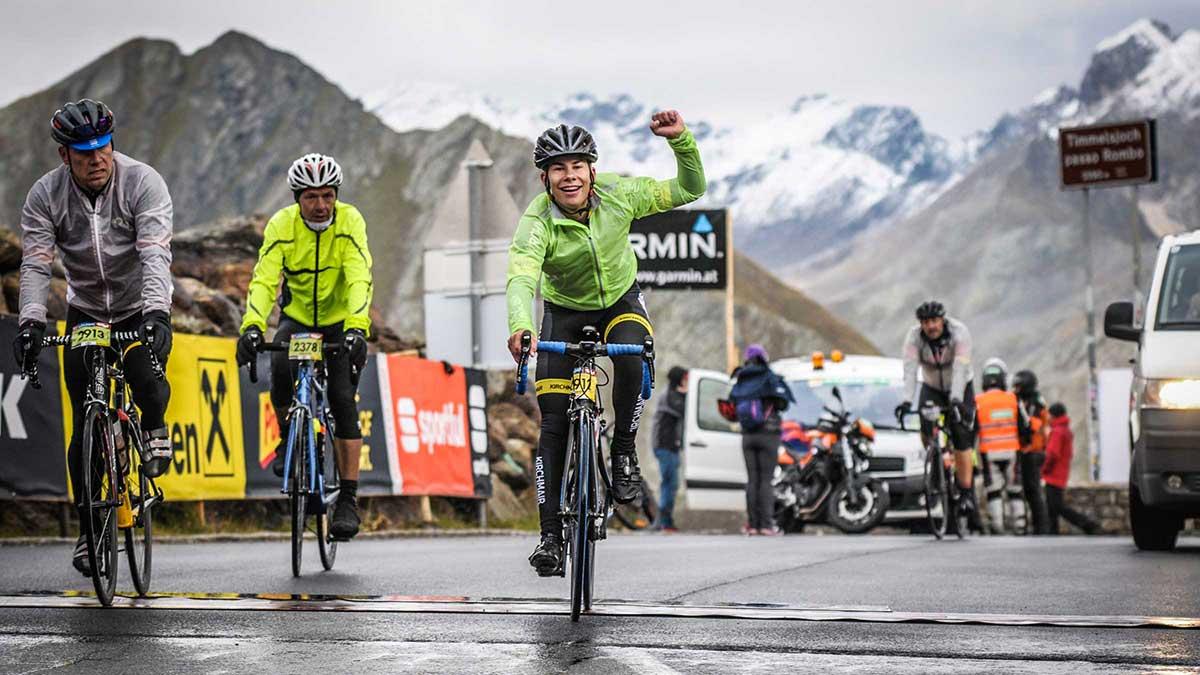"""Fiedje Schäfer am """"Timmel"""" - Ötztaler Radmarathon"""