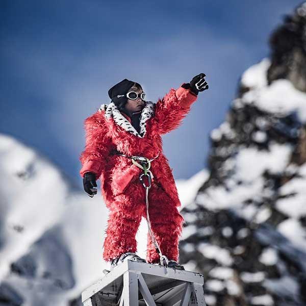 Hannibal Junior auf Turm - Gletscherschauspiel Hannibal