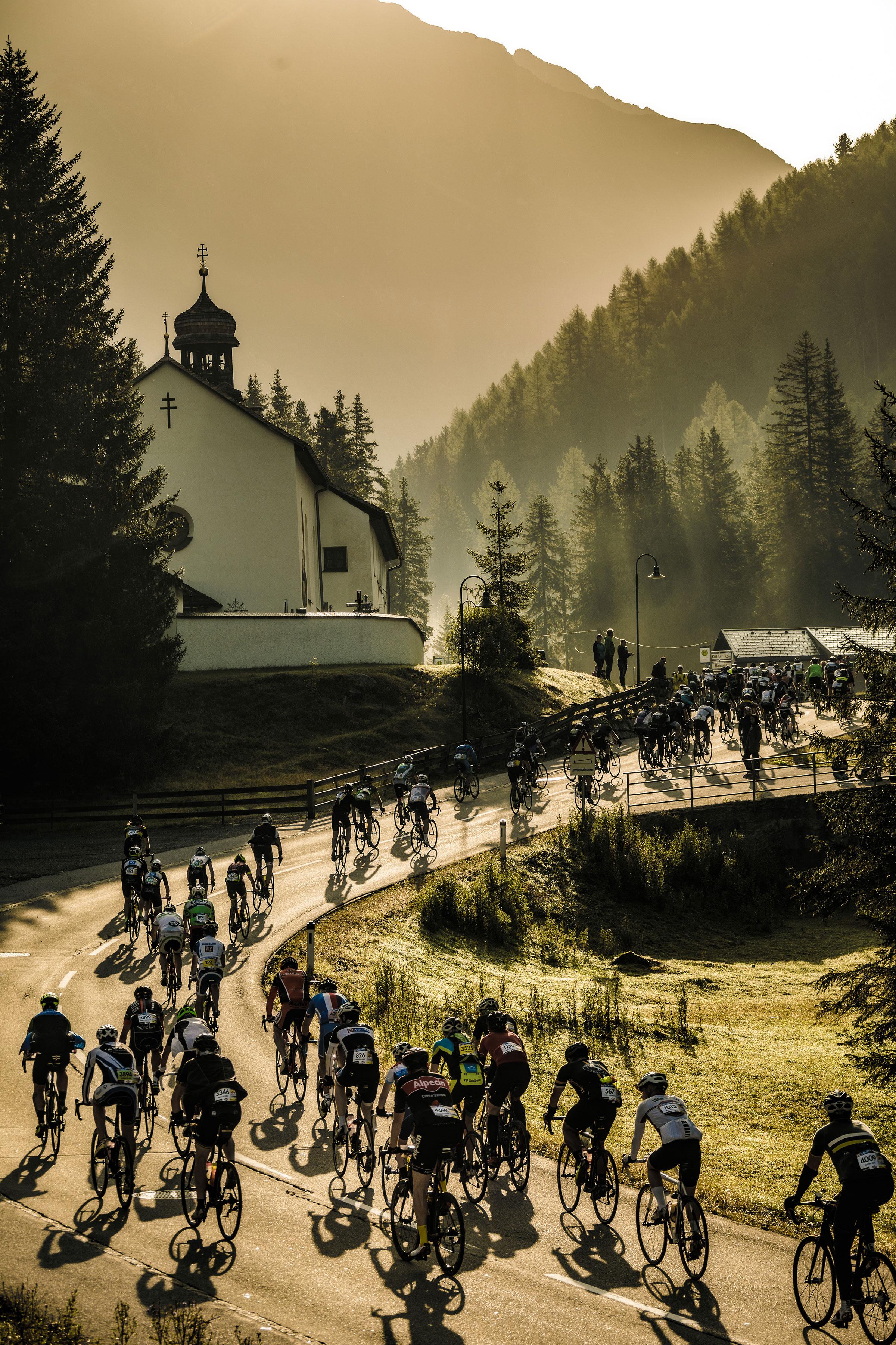ÖRM Radfahrergruppe Kirche - Ötztaler Radmarathon